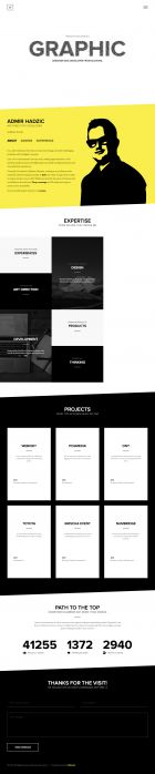 Portfolio of Admir Hadzic - UX Designer and Developer