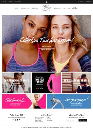 Fashionable Gym and Exercise Clothing - Womens Activewear