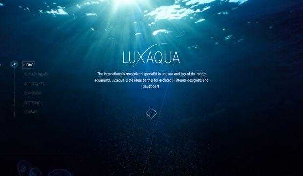 Best web design websites beautiful inspiration gallery for Site aquarium