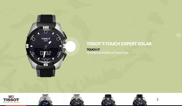 Tissot T-Touch Tactile Watch - Tissot