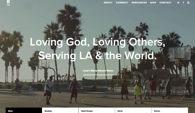 The Risen Church Website : Loving God, Loving Others, Serving LA & the World