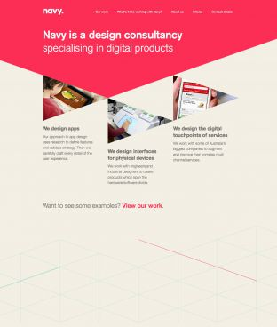 Navy Design - A digital UX consultancy in Melbourne