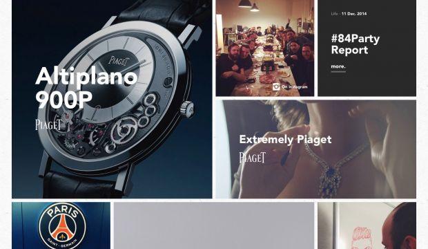84.Paris - Ideas Agency 2015 - Webdesign inspiration www ...
