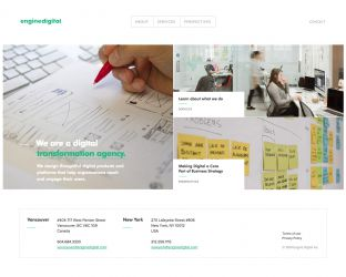 Engine Digital - A Vancouver and NYC Digital Agency