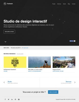 Footman is an interactive design studio based in Lyon