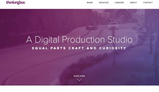 Thinkingbox is a digital production studio