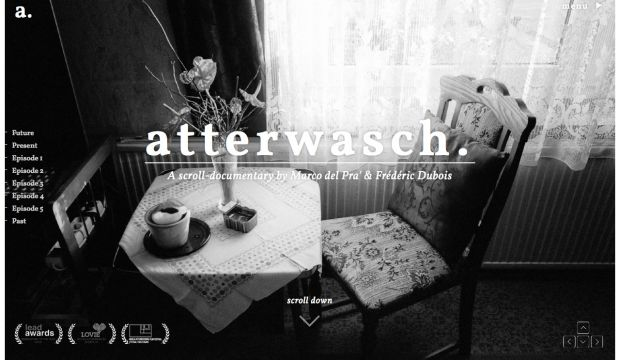 atterwasch - a scroll-documentary by Marco del Pra and Frederic Dubois