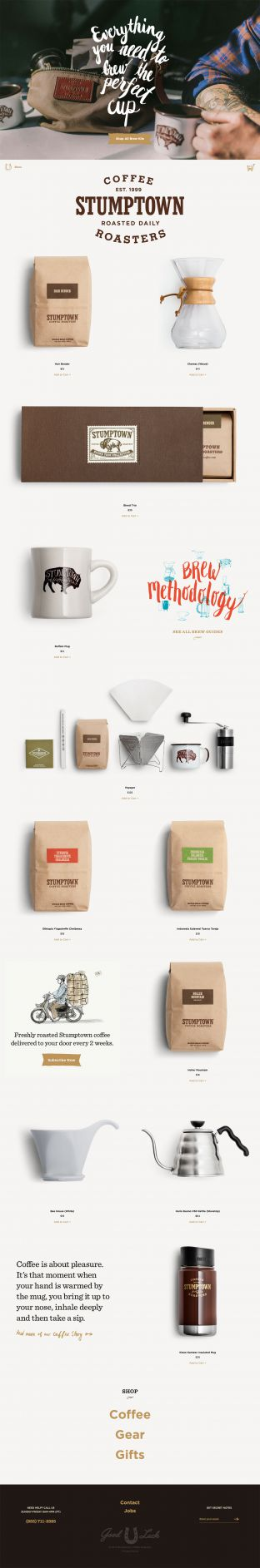 Coffee Roasted Daily - Stumptown Coffee Roasters