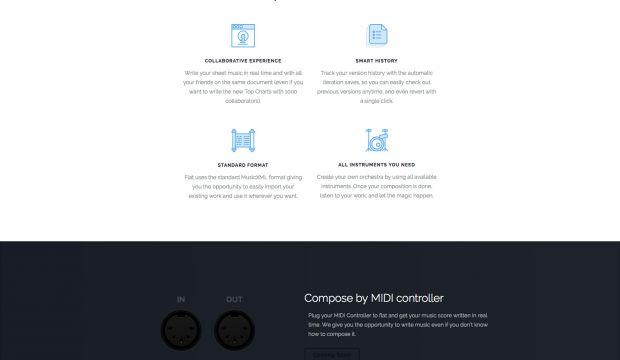 Flat - The online collaborative music score editor