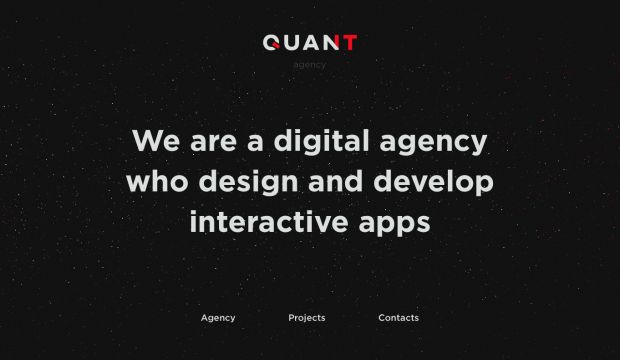 Quant Agency - Design and Developmeny Interactive apps