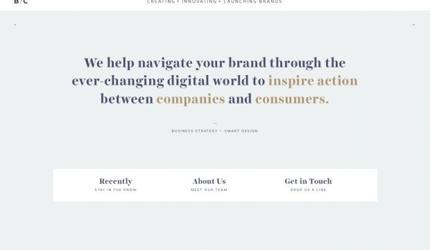 BC - creating innovating and launching brands