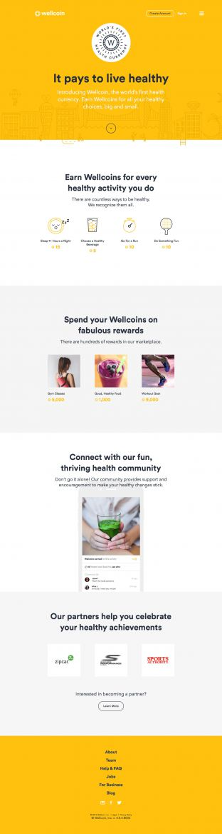 Wellcoin - Wolrds first health currency