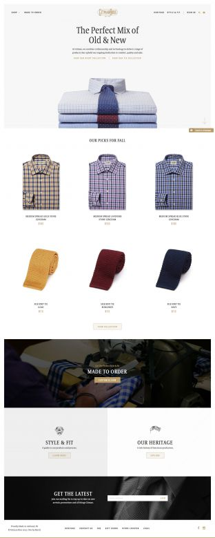 Gitman Shirts and Ties - Made In The USA