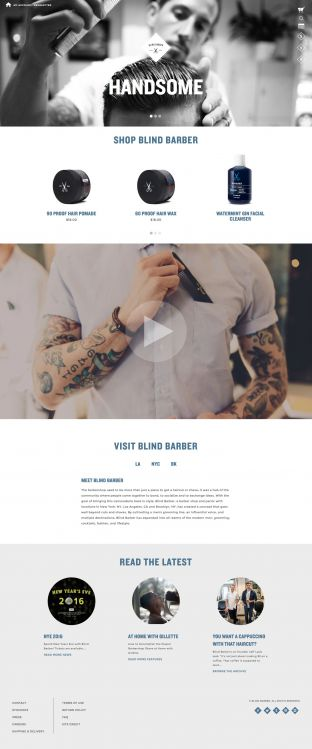 Blind Barber - The barbershop