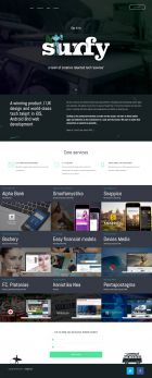 Surfy - Web and mobile development agency
