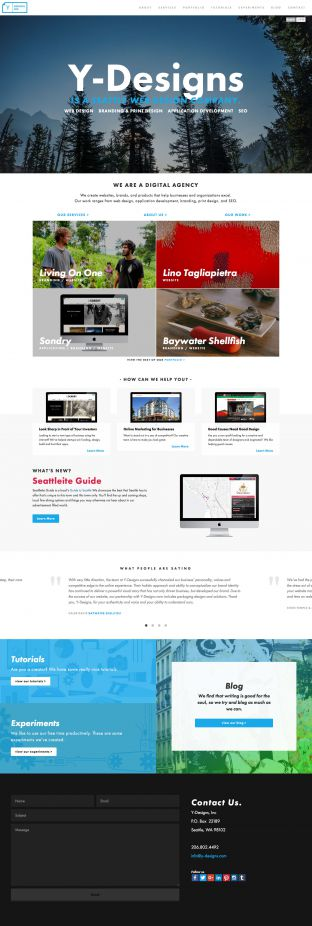 Seattle Web Design and Web Dev - Y-Designs