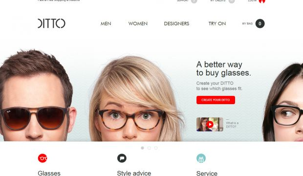 99edd9630c DITTO - Designer Glasses and Sunglasses - Webdesign inspiration www ...