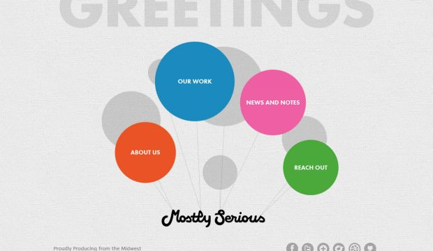 Mostly Serious - Interactive Design