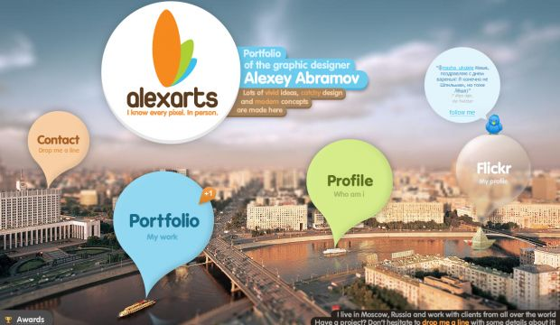 Alexarts - Portfolio of the graphic designer Alexey Abramov