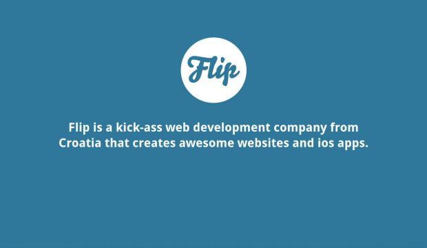 flip - Web development on steroids
