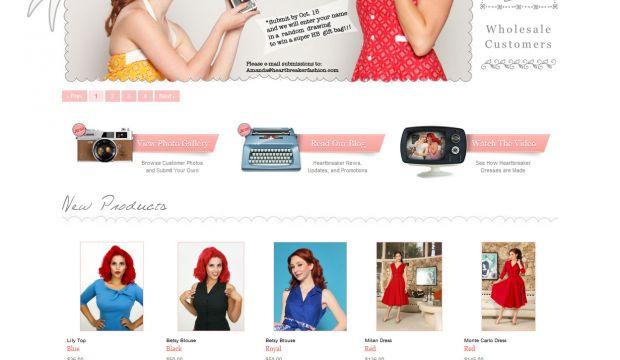 inspirational fashion website designs