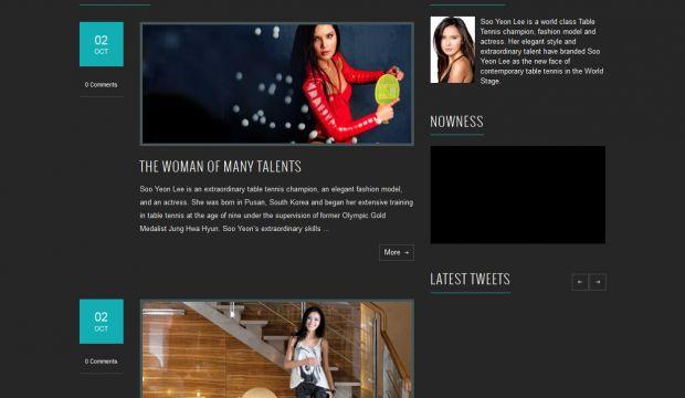 Best Web Design Inspiration: Soo Yeon Lee - Athlete Model Advocate Actress - Webdesign rh:niceoneilike.com,Design