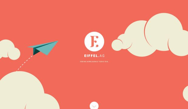 Eiffel Agency - Ideas aired every day - Webdesign inspiration www ...