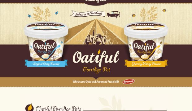 Oatiful Porridge Pots by Avonmore