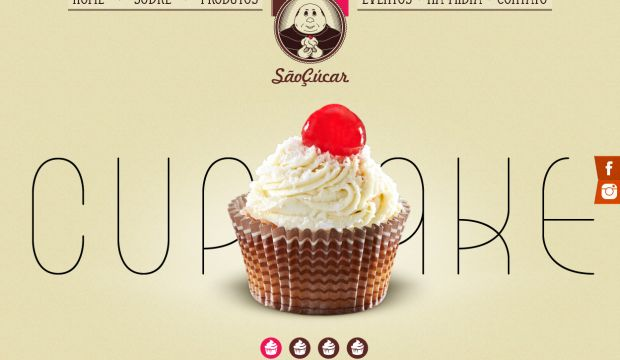 saocucar cupcake creation webdesign inspiration www