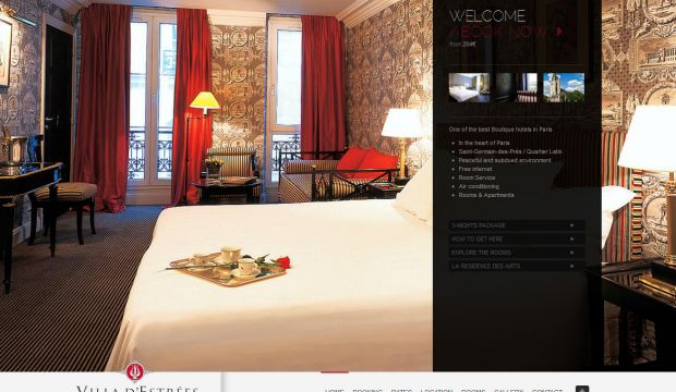 hotel villa destrees paris official site boutique hotel