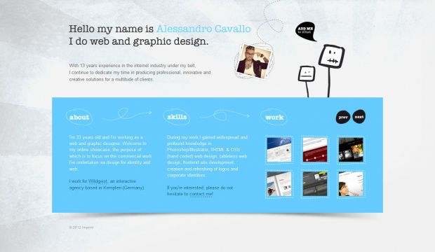 Alessandro Cavallo Portfolio - Web Designer and Developer