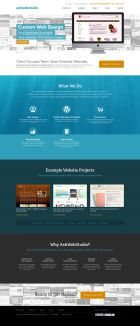 Web design company AshWebStudio - Creating effective small business websites